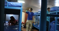 tempat tidur di kapal