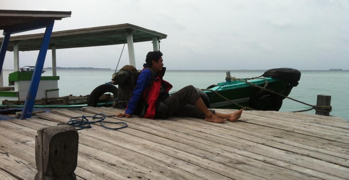 Camping murah ala anak pantai (SemakDaun)