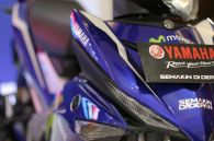 Empat motor Yamaha livery MotoGP (YZF-R25, YZF-R15, New V-Ixion Advance, MX King) diperkenalkan di Indonesia International Motor Show (IIMS) 2016 (2)
