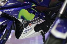 Empat motor Yamaha livery MotoGP (YZF-R25, YZF-R15, New V-Ixion Advance, MX King) diperkenalkan di Indonesia International Motor Show (IIMS) 2016 (3)
