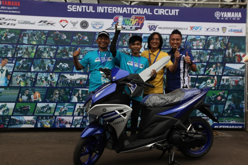 Juara Umum 150 cc Comm A YSR 2016