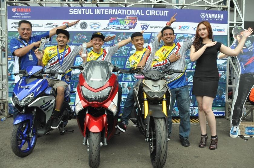 Juara Umum tiga kelas komunitas diborong YROI - 250cc Comm A - 250cc Comm B - 250 cc Comm Pro