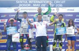 Podium Sport 150cc Pro Riders seri ketiga YSR 2016