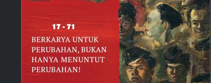 Goresan juang menyambut kemerdekaan 17 – 71
