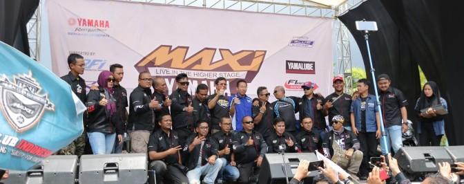 Yamaha maxi day, Hidupkan kota kembang