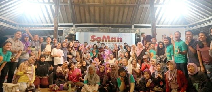 Foto bersama Blogger Day 2017 bersama Soman