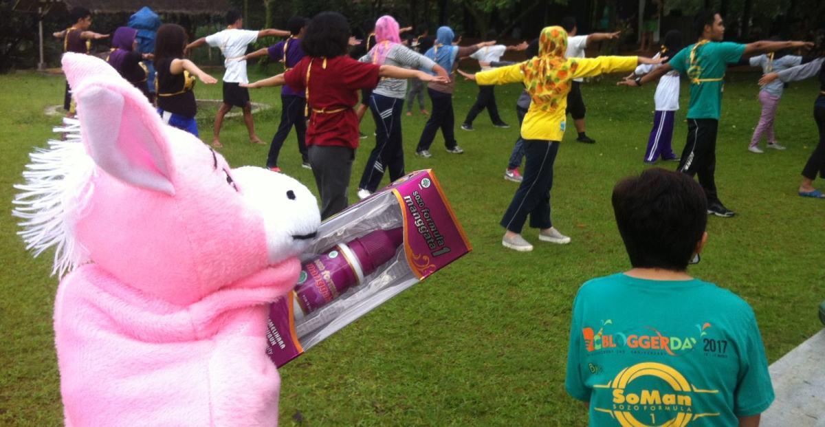 Bersama SoMan, Blogger Sehat Sariawan Pun Lewat