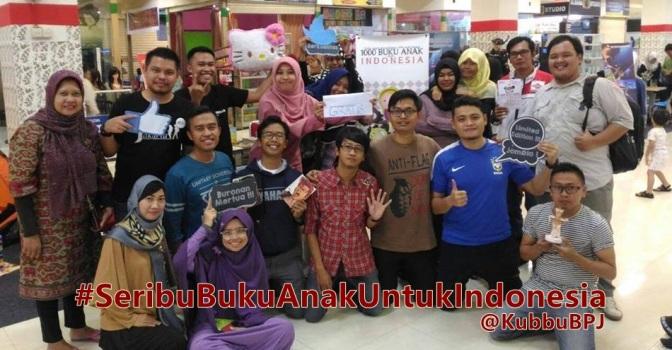 Seribu buku anak untuk indonesia