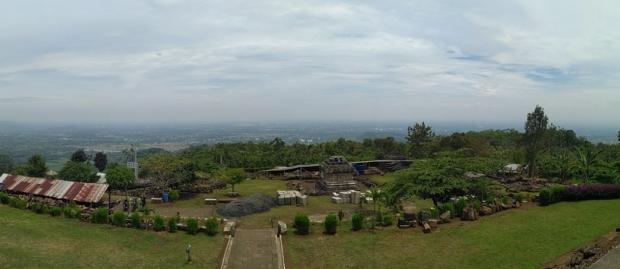 Panorama area candi ijo