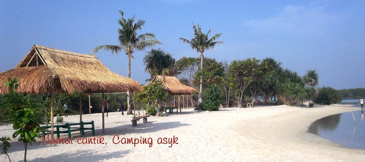 Pantai cantik buat camping asyk di Kepulauan Seribu