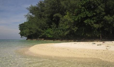 Pulau Opak atau Pulau Bulat