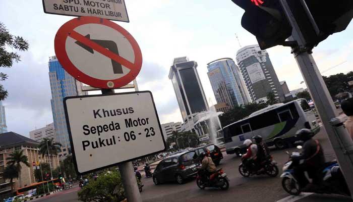 Pembatasan sepeda motor di jakarta