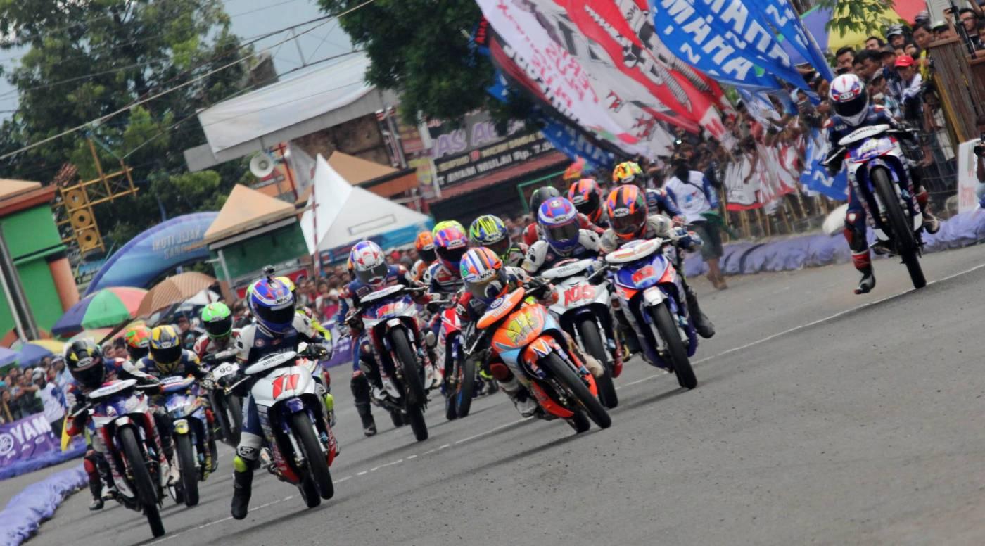 Seri pertama Yamaha Cup Race 2017 di Kebumen untuk pertama kalinya(a)