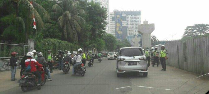 Kejar Pendapatan Daerah, Pemda DKI dan Polisi adakan Razia STNK