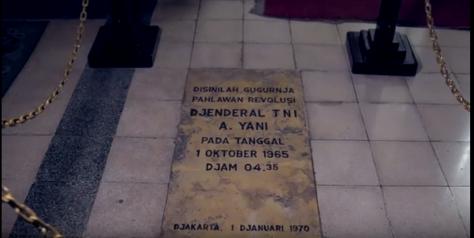 Lokasi gugurnya Jendral Ahmad Yani