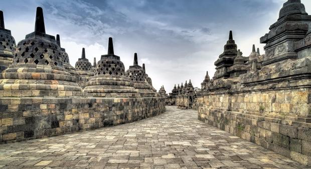 Candi Borobudur masih menjadi favorite wisatawan