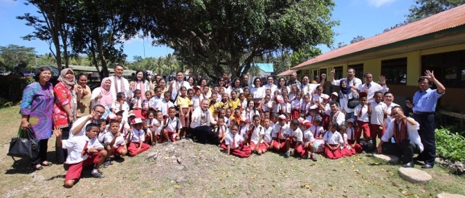 Kampung Berseri Astra Sonraen, Wujud Kepedulian Grup Astra di Kupang