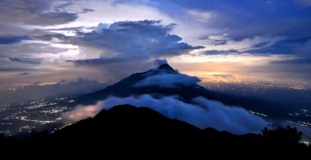 Panorama Gunung Merapi