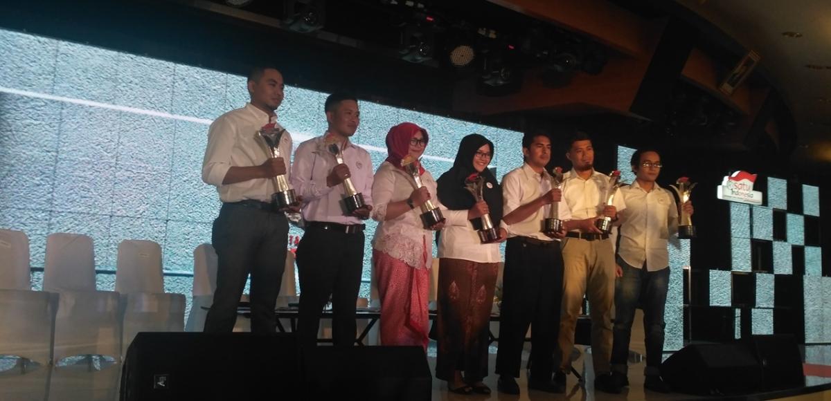 Inilah Tujuh Pemuda Penyulut Api Inspirasi Satu Indonesia Award2017
