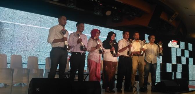 Tujuh Jawara Satu Indonesia Award 2017