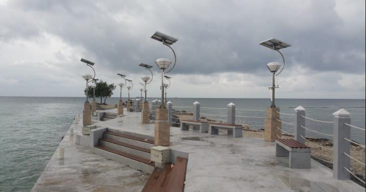Dermaga pulau Tidung