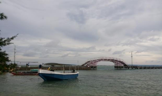 Jembatan Cinta pulau Tidung