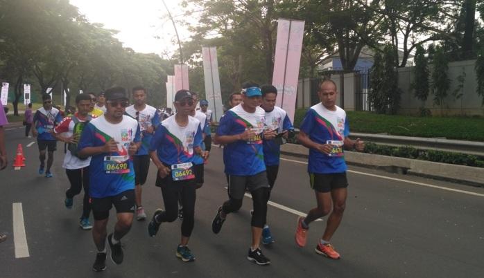 Wakil Gubernur Jakarta, ikut berpartisipasi dalam CT Arsa Charity Fun Run 2017