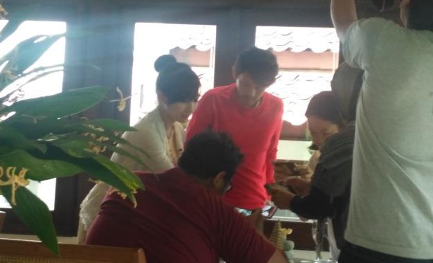 Interaksi Narasumber dengan peserta