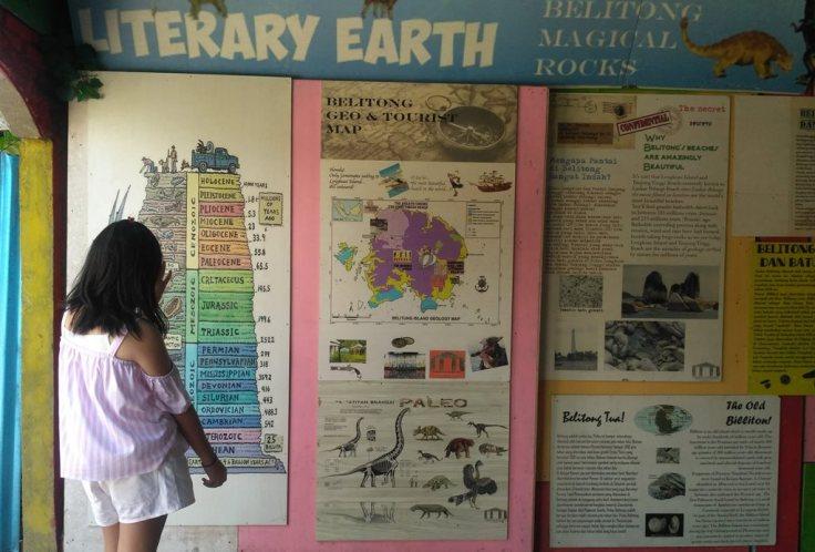 Literacy Bumi di Museum Andrea Hirata