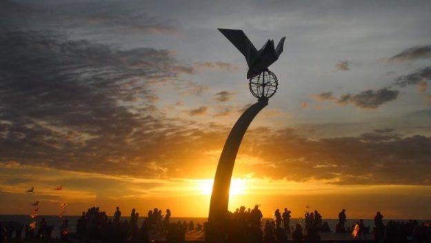 Senja Pantai Padang Taplau